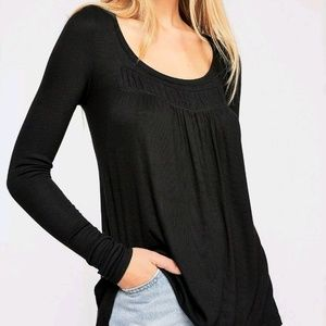 We The Free People Love Valley Long Sleeve Top XS